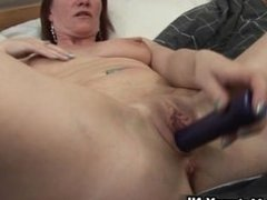 Horny housewife spreading her wet pussy part2