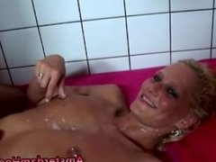 Sexy ass prostitute gets a cumshot for all her hard work