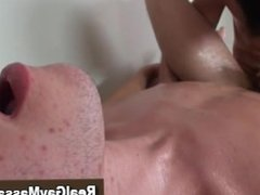 Straight turned gay guy gets a cumshot