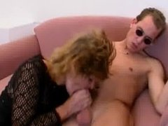 Horny mature mom loves sucking some part6