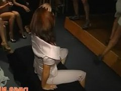 Strip dancer fucked boobs