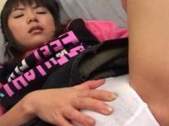 Cute asian schoolgirl masturbating video part2