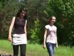 Double Teen Blowjob Two Sexy Chicks teen amateur teen cumshots swallow dp a