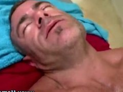 Watch straighty cum after turning gay
