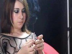 Smoking Fetish Julia