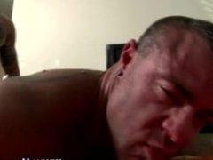 Straight guy turns gay and anal fucks