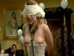 LIVE and PUBLIC ALL GIRL LESBIAN BDSM ORGY starring Justine Joli