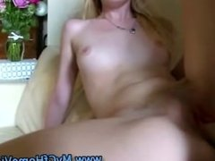 Small titted slut makes up for it by fucking like a pro