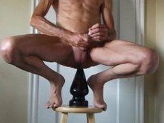 Extreme Huge Butt Plug and Penis Plug Fucking