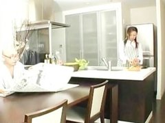 Omoe Hinatsu Cooks Up Sex In The Kitchen part6