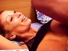 Amateur GILF first fuck with black stud