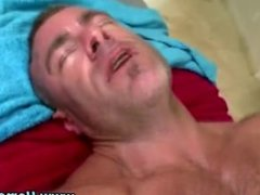 Bear pummelled by cock