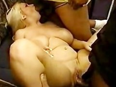Sexy Dumb Mature Is Perfect For Group Sex By Troc