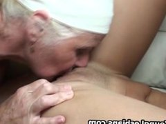 Horny mature wife eating out two tight part4