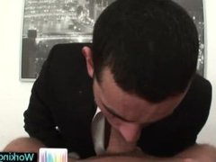 Amazing gay hunks fucking and sucking in office part2