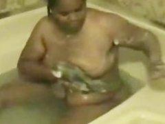 Amateur Ebony Bbw In The Bathtub black ebony cumshots ebony swallow interr