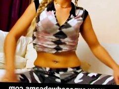 Domincan Aracelia Caught On Spy Cam