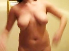 Tits Shake Jump russian cumshots swallow
