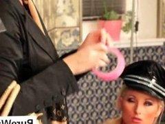 Lesbos tease in wam scene
