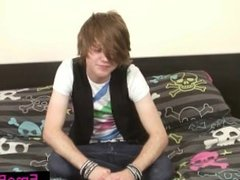 Cute teenage emo wanking his dick part6