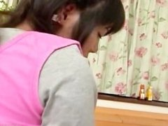Pretty asian schoolgirl gets a warm part3