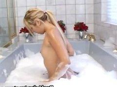 My asian GF in bathtub 1 by CaughtExGF part1