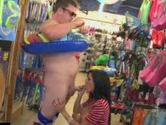 Date Fucked in Toy Store