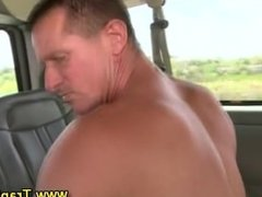 Straight guy fucking gay ass for money