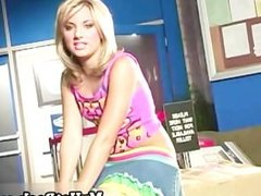 Teagan Presley is a short haired blonde whore who