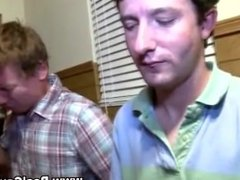 Straight frat pledge initiation turns gay