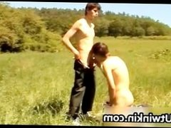 Cute European twinks fucking and jerking part5