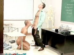 Hardcore gay porn video at the office part1