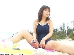 Super hot Japanese babes doing weird sex part2