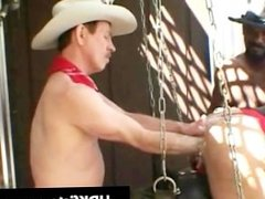 Gay cowboys in super extreme gay fisting part3