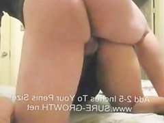 Latina with a big booty gets her pussy spread open and fucked