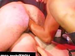 Extreme gay fisting threesome porn clips part6