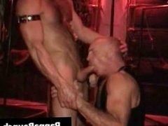 Extreme gay hardcore asshole fucking S&M part4
