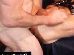 Extreme gay hardcore asshole fucking S&M part2