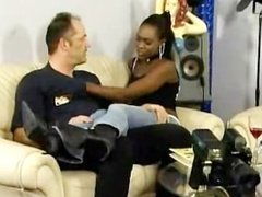 Black woman riding a dick