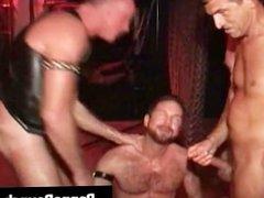Extreme gay hardcore asshole fucking S&M part1