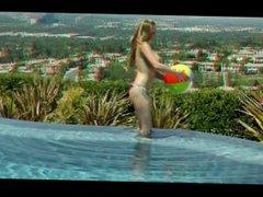 3DXSTAR - Big-tit bikini clad blonde is fucked hard by the pool