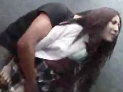 School Girl Abused In Elevator Part 1