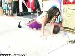 Hot chicks gets to screw and blow job part2