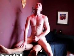 Travis Irons in public bathroom orgy part1