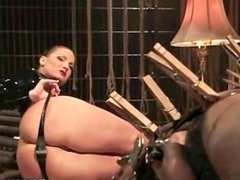 Hot sexy babe's sexy helpers fucked and punished
