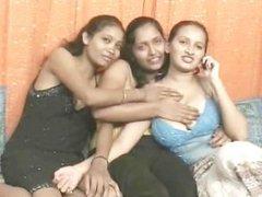 Salman in gangbang Sanjana Reshma and Pushpa