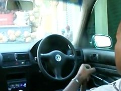 flashing voyeur sex in car