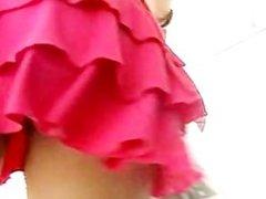 pink skirt spy