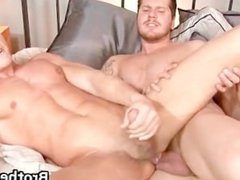 Brothers horny boyfriend gets cock part6