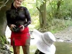 Two horny Euro babes getting all messy part4